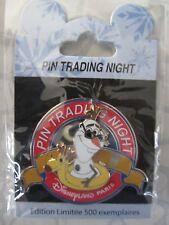 1 pin Mini Jumbo Pin Trading Night Olaf Disneyland Paris