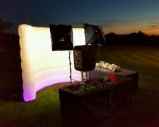 Inflatable Lighting Wall 10ft * 8ft For Photo Booth w/LED Lights&Internal Blower