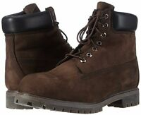 Men's Shoes Timberland 6 Inch Premium Waterproof Boots 10001 Dark Brown *New*