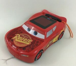 Vtech Lightning McQueen Race and Trace Handheld Game Learning Toy Cars 3