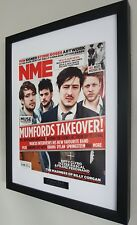 Mumford and Sons Framed Original NME Plaque Certificate