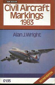 Ian Allan abc Civil Aircraft Markings and other similar books 1971-1999