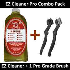 Lincoln EZ Cleaner Suede Nubuck Leather Nylon Fabric Shoe Cleaner E-Z 8 oz.