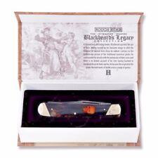 Pirate Trapper Pocket knife Bone Handle The Blackbeards Legacy Display Box