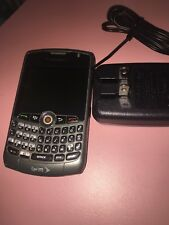 NEW BlackBerry Curve 8330 Sprint 3G Cell Phone TITANIUM gray RIM EVDO web qwerty