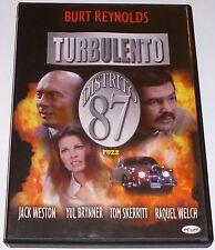 TURBULENTO DISTRITO 87 / FUZZ - Burt Reynolds - English Español AREA ALL