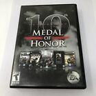 Medal Of Honor 10th Anniversary Pc Dvd_rom  2008 Computer Game With Manual