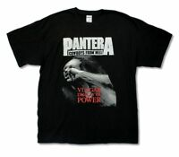 Pantera Cowboys From Hell Stronger Than All Black T Shirt New Official Merch