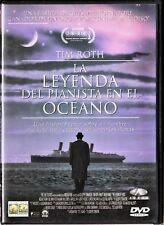LA LEYENDA DEL PIANISTA EN EL OCÉANO. España tarifa plana envíos DVD: 5 €