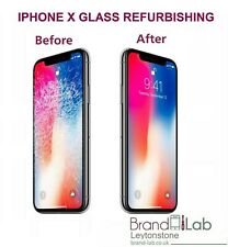 IPHONE X BROKEN OLED SCREEN GLASS REPLACEMENT REPAIR SERVICE (LCD MUST WORK)