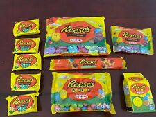 Lot of Reese's Chocolate Lover's Peanut Butter Cup & Pieces Eggs FRESH, 43 oz