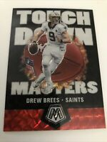 2020 Panini Mosaic Drew Brees TM1 Touch Down Masters