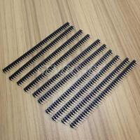 10 Pcs 40pin 2.54mm Female Header Socket Single Straight Row Strip Ardunio-DIY