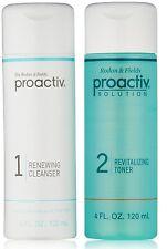 Proactiv 4 oz DUO Renewing Cleanser & Revitalizing Toner 60 day Proactive
