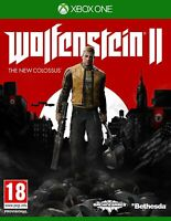 Wolfenstein II 2 The New Colossus Xbox One **FREE UK POSTAGE!!**