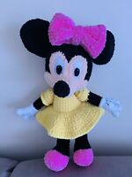 Minnie Mouse Toy Hand Knitted 50 Cm