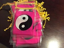 35pk Yin and Yang ☯️   party Plastic Gift Bags with Drawstring