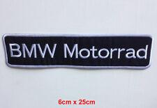 BMW Motorrad Logo Abzeichen Groß Zum Aufbügeln Aufnäher Bestickt