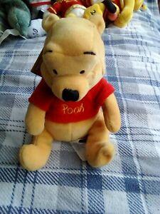 Disney mini bean bag  Pooh Bear