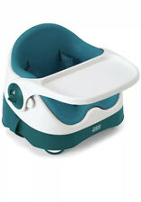 Mamas & Papas Baby Bud Booster Seat With Tray Teal Pre Loved Toddlers