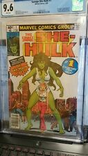 New listing (Q24) The Savage She Hulk #1 -Cgc 9.6 White pages - Newstand Copy Marvel Mcu