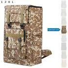 120L Hiking Camping Military Tactical Trekking Backpack Outdoor Camouflage Bag