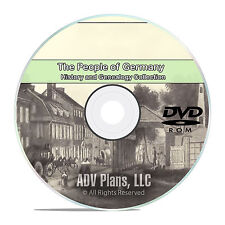 Germany People Cities Family History and Genealogy 102 Books DVD CD B21
