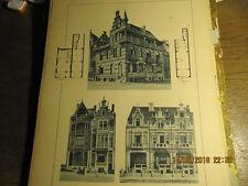 Planche Villas à Middelkerke 1892