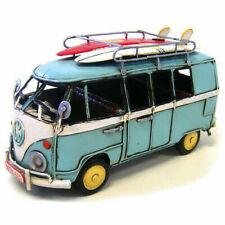 21cm VW VOLKSWAGEN Blue Combi Kombi Van With Surfboards Detailed Quality Model