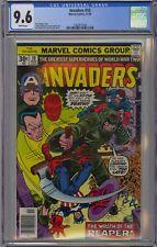 Invaders #10 CGC 9.6 NM+ Wp Vs Reaper Marvel Comics 1976 Captain America Bucky