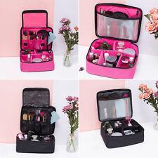 Grande Trucco Organizzatore Cosmetico Borsa Beauty Case da Toeletta Donna Porta