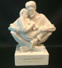 """Timothy P Schmalz """"A Quiet Moment"""" Statue Figurine of The Holy Family"""