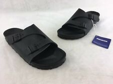 Birkenstock Women's Zurich Exquisite Black Leather Sandal Size 39 US 8A RH13226^