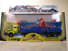 CORGI TOYS 1164 BERLIET DOLPHINARIUM TRUCK YELLOW/ BLUE+ BOX  1:43