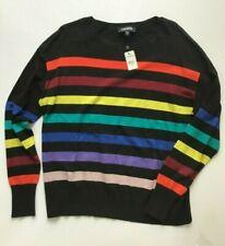 Express Fashion Multi-color Striped Sweater