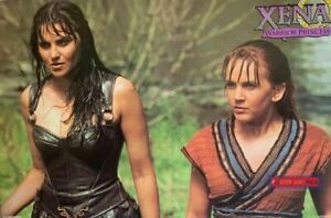 Xena Warrior Princess Lucy Lawless & Renee O'Connor Rare Vintage Poster 23 x35