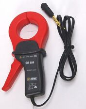 AEMC SR-604 Meter Current Probe Input 1000/2000 Amp Output: 1mA/Amp