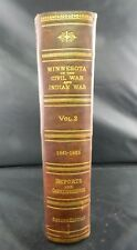 MINNESOTA IN THE CIVIL WAR & INDIAN WAR 1861-1865 BOOK