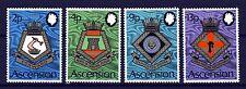 ASCENSION 1973 Royal Naval Crests Fifth Series Set SG 166 to SG 169 MNH