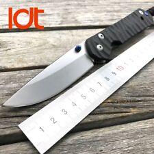 Kevin John Knife Titanium Carbon Fiber Scales D2 Blade Steel