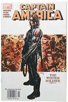 Captain America 11 Newsstand Variant VF/NM 9.0 Winter Soldier Origin Brubaker