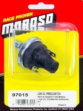 Moroso Oil Pressure Switch Kit MOR97015