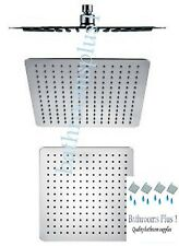 """12"""" Square Shower Head 300 x 300mm Ultra Thin Stainless Steel 304 WELS (S05540)"""