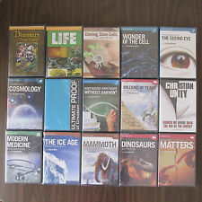 HUGE LOT (15) *NEW* Answers in Genesis Creative Library Series Home School DVD's