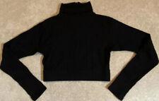 Varsity Spirit Black Long Sleeve Turtleneck Cheer Top Size Medium