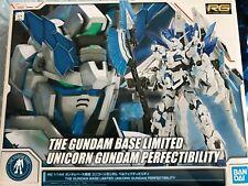 Bandai Gundam Base Limited RG 1/144 Unicorn Gundam Perfectibility Model Kit