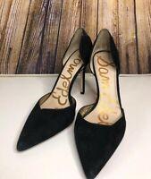 Sam Edelman Delilah Women's Pointed Toe D'orsay Pumps Heels Size 10 Black