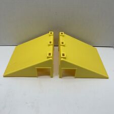 2 Rokenbok Yellow Angle Roof Pieces