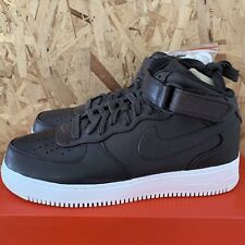 low priced de1bf d6d10 Nike Lab Air Force 1 mi - Velours Marron Taille 11.5 Neuf