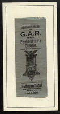 1900 CHIGAGO HDQ.  GAR PA. DIVISION